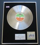 BONEY M - The Magic Of Boney M 20 Golden Hits PLATINUM LP PRESENTATION Disc